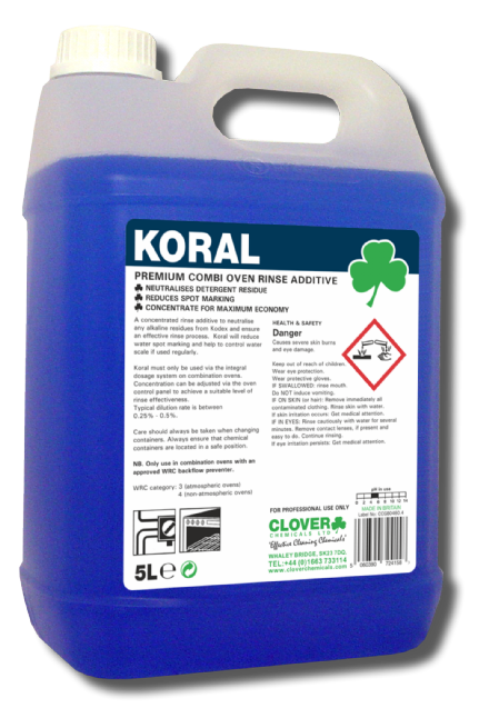 Clover Koral 5L - Combi Oven Rinse